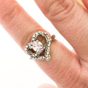 Jewelry - 2/$10 NWT Heart ring